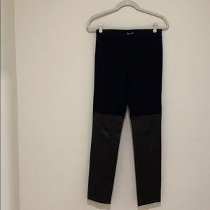 Vince fabric/lamb leather legging